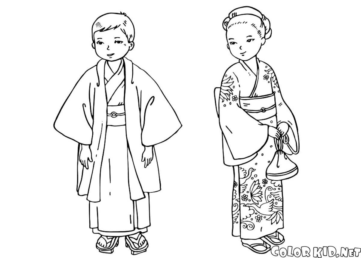 Japon çocuklar