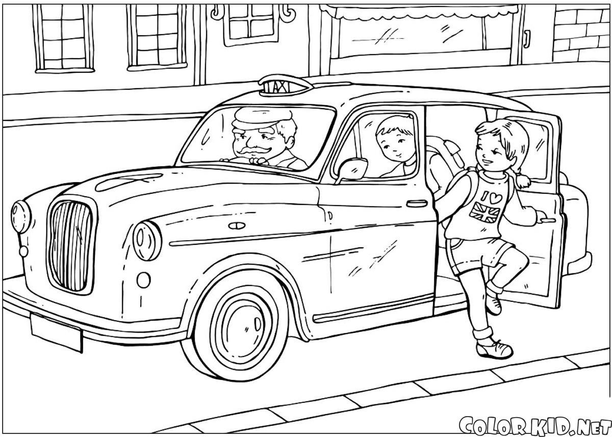 İngiliz taksi
