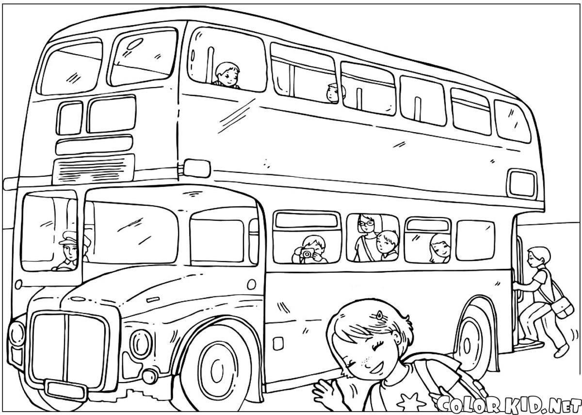 Boyama Sayfasi Sermaye Otobus
