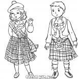 İskoç çocuklar